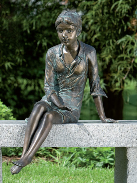 Bronzefigur Berrit (Art.Nr. 88178)