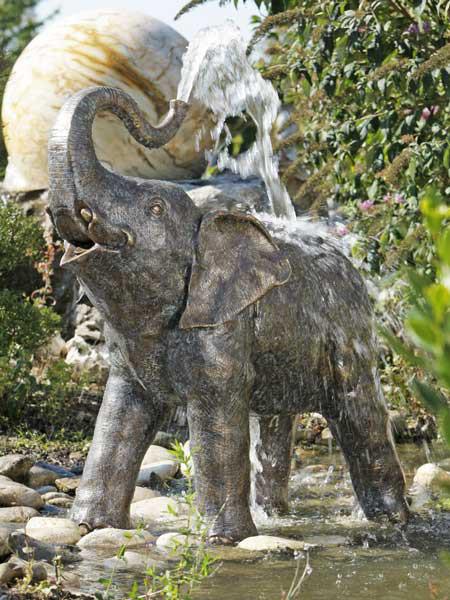 Bronzefigur Baby Elefant (Art.Nr. 88145)