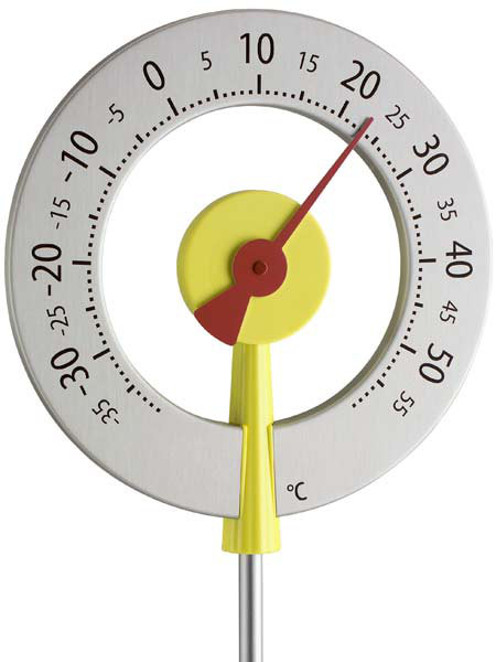 Design-Gartenthermometer 'Köln Red' (Art.Nr. 12205507)