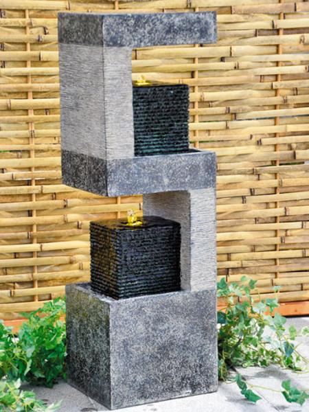 Säulenbrunnen Kaitoaus Polystone (Art.Nr. gr066)