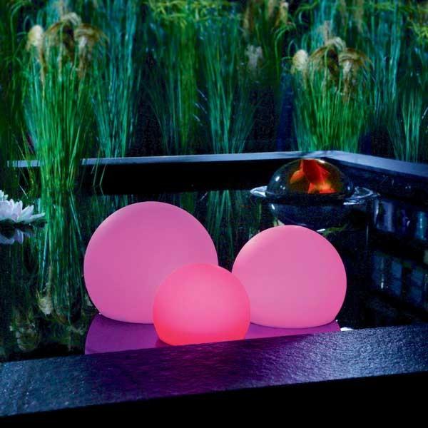 Floating Solar Light pink
