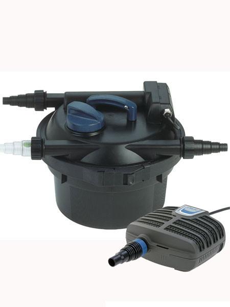 FiltoClear 1500 Set Druckfilter-Komplettsystem mit Reinigungsfunktion von OASE