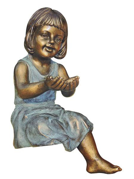 "Dekofigur ""Emma"" aus Polystone (Art.Nr. gr828)"