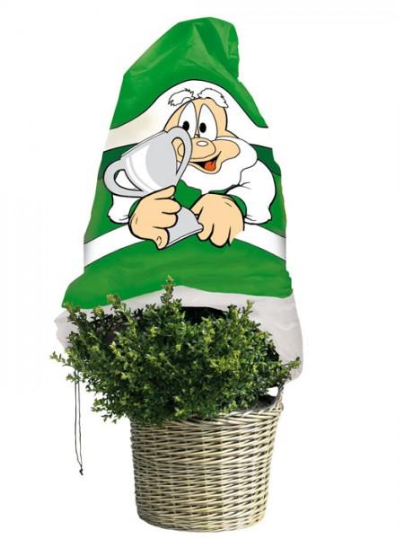 """Winterschutz Vlieshaube """"grün-weiß"""" (Art.Nr. Vi29134)"""