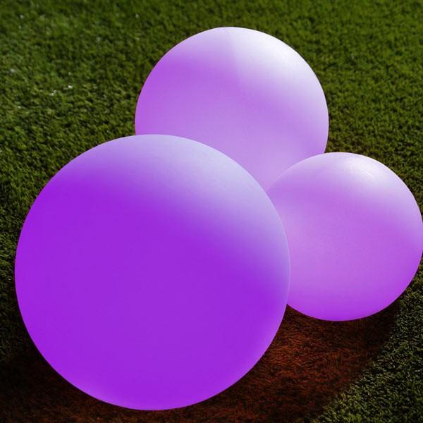 Floating Solar Light violett