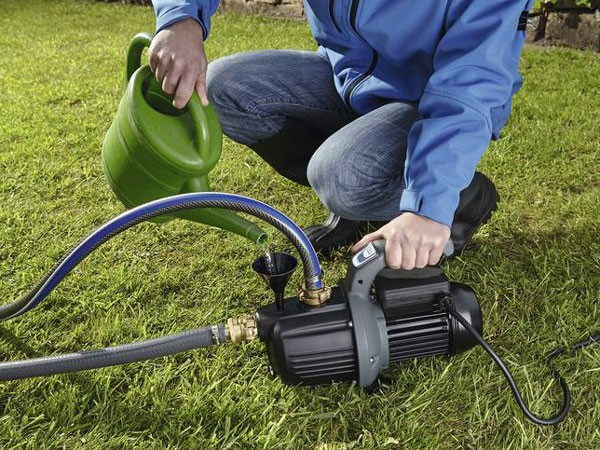 ProMax Garden Classic befüllen des Wassereinlasses