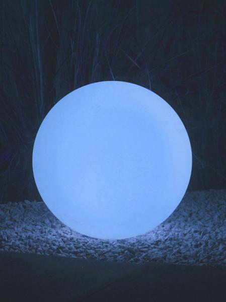 Kugelleuchte Round blau