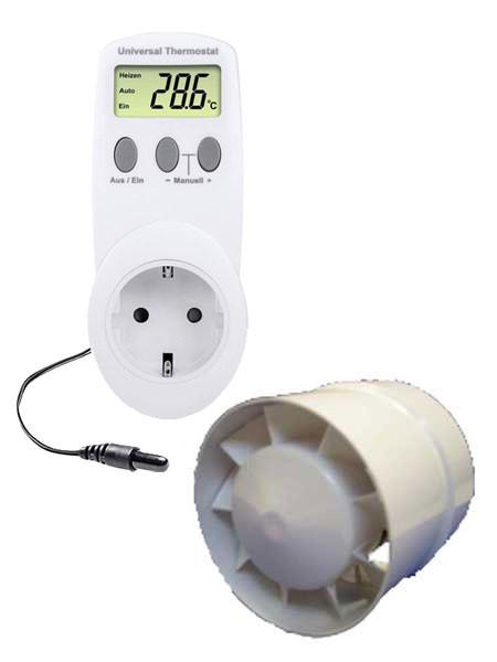 Thermostatgesteuerter Lüfter für den Florino (Art.Nr.GS700302)