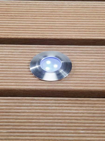 Einbauleuchte 'Alpha blue' von Garden-Lights (Art.Nr. 4059601)