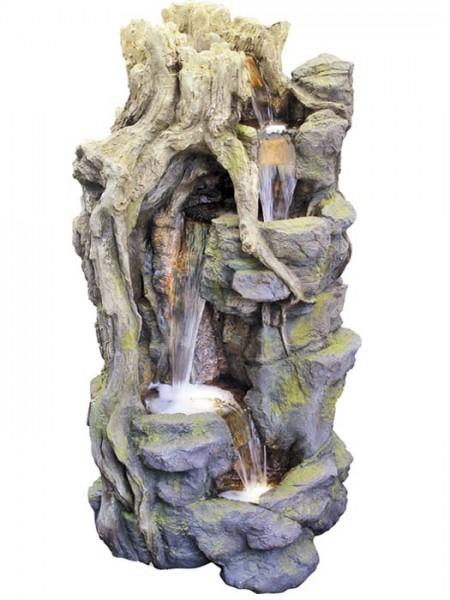 Wasserfall-Brunnen Lei-Shengaus Polystone (Art.Nr. gr893)