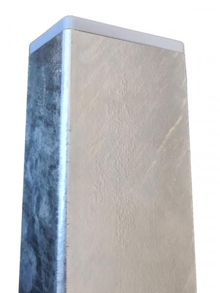 Keramik-Sichtschutz Futura mit Alu Pfosten