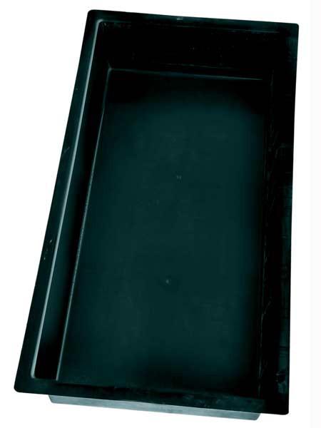 GFK-Becken eckig E240 - XXL-Produkt (Art.Nr.15034)