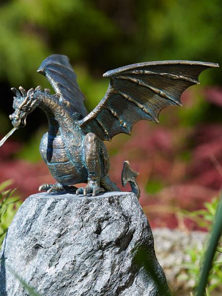 Bronzefigur Drachenvogel Terrador klein (Art.Nr. 90169)