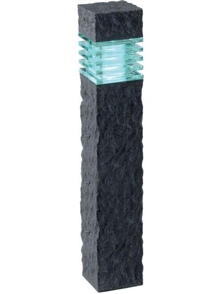 Gartenleuchte 12 Volt Kolossos Stein effekt anthrazit LED 2 Watt