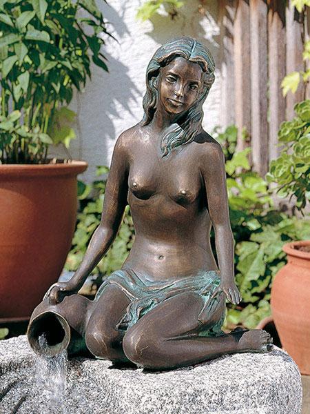 bronzefigur jasmin by rottenecker gartencenter shop24. Black Bedroom Furniture Sets. Home Design Ideas