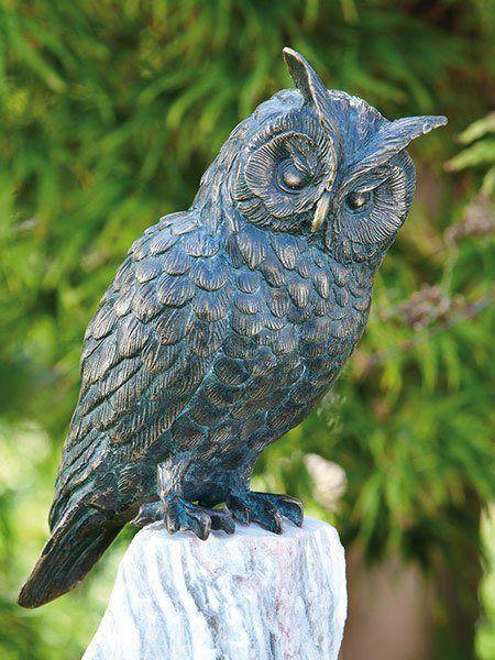 Bronzefigur Waldohreule (Art.Nr. 88634)