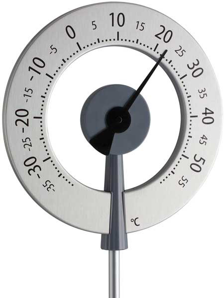 Design-Gartenthermometer 'Köln Black' (Art.Nr. 12205510)
