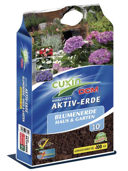 Cuxin Blumenerde für Haus und Garten