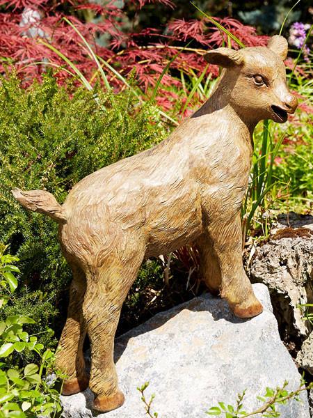 Bronzefigur Geißlein kletternd (Art.Nr. 88854)