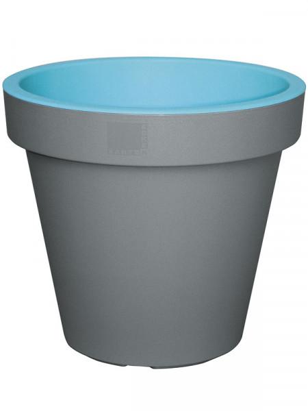 Pflanzkübel E&K Grey hellblau
