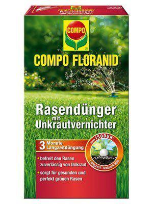 Floranid Rasendünger mit Unkrautvernichter