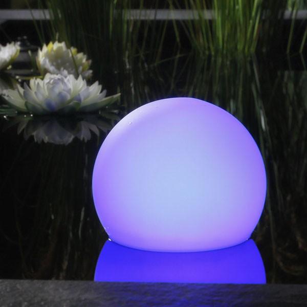 Floating Solar Light blue