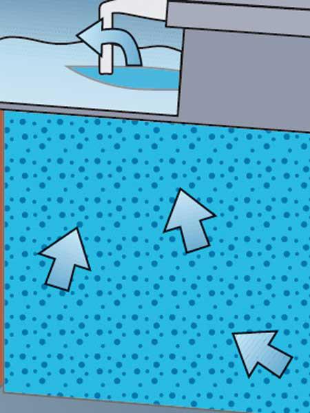 Ersatzfilterschwamm, blau (Art.Nr. 35792)