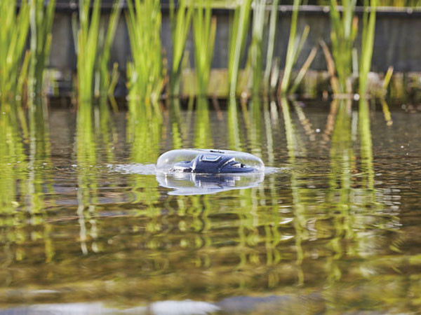 IceFree 4 Seasons Wasserspiel Glocke seitlich