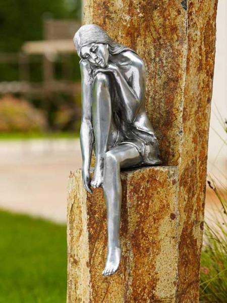 Aluminium-Figur Emanuelle(Art.Nr. 88574alu)