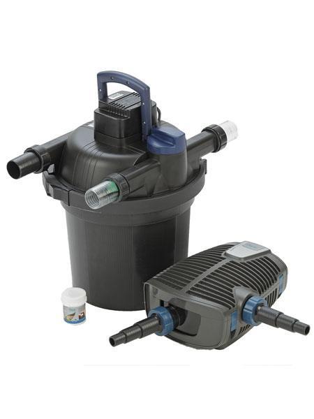 FiltoClear 12000 Set Druckfilter-Komplettsystem mit Reinigungsfunktion von OASE (Art.Nr.51250)