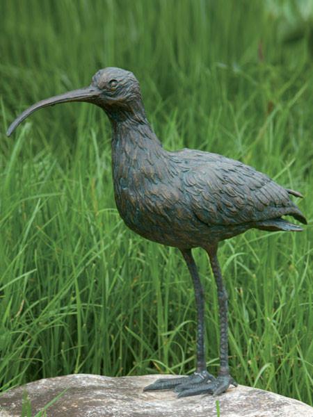 Bronzefigur Brachvogel (Art.Nr. 88471)