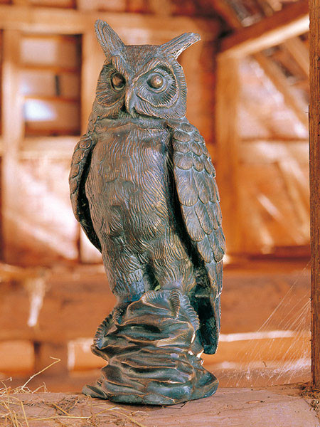 Bronzefigur Eule (Art.Nr. 88319)