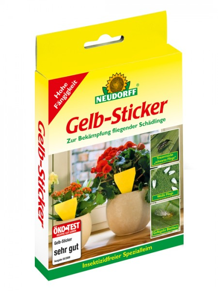 Gelb-Sticker