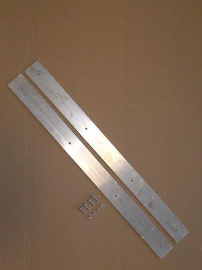 Verschlussschiene für Rhizomsperre aus Aluminium