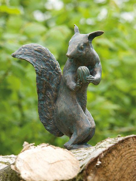 Bronzefigur Eichhörnchen (Art.Nr. 88475)
