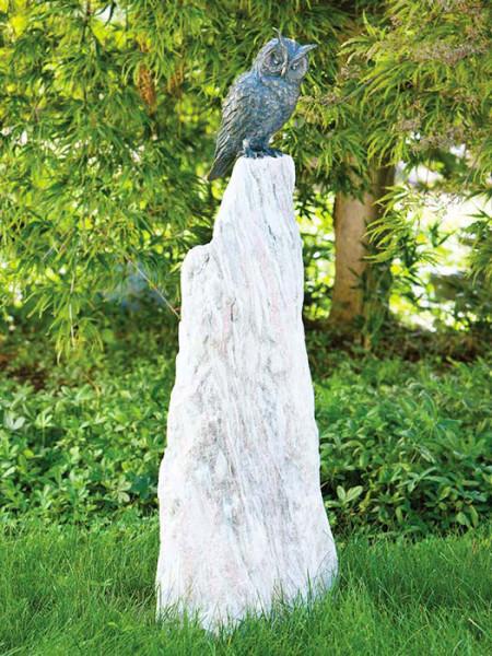 Bronzefigur Waldohreule auf Rosariosäule(ArtNr.88666)