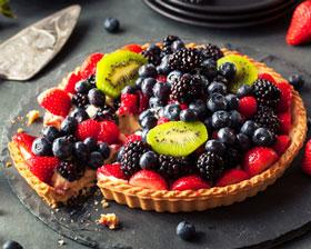 Brombeeren-Kuchen