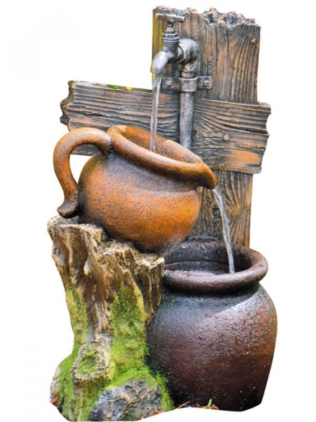 Brunnen 'Zapfstelle Min' aus Polystone (Art.Nr. gr986)
