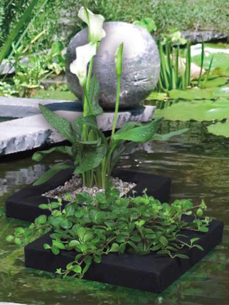 Floating Plant Island, 35 x 35 cm (Art.Nr. Vel127579)