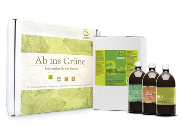 Effektive Mikroorganismen - Paket 'Ab ins Grüne'