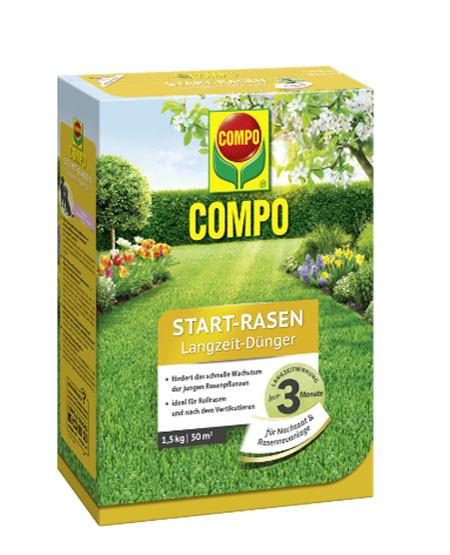 Floranid® Start-Rasen Langzeit-Dünger