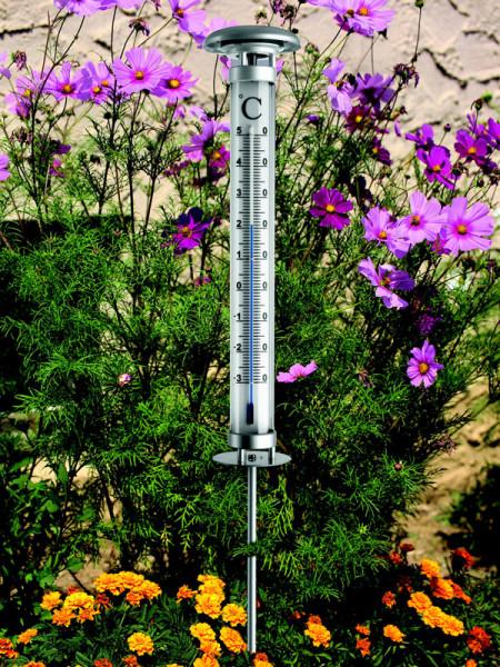 Thermometer Münster im Garten