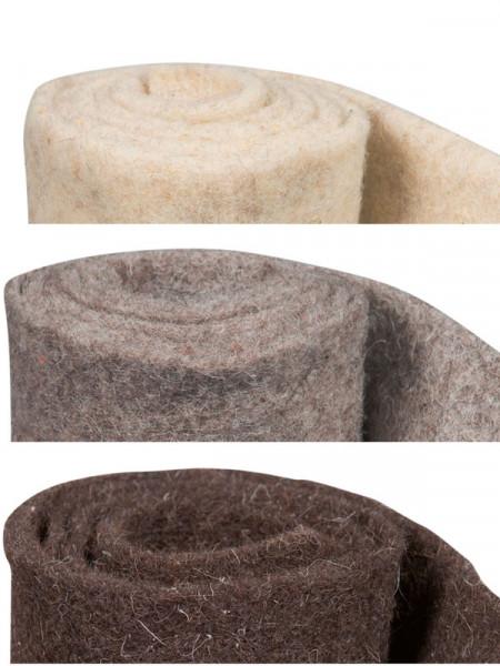 Winterschutz Schafwollmatte aus reiner Schafwolle