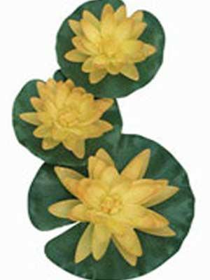 Dekor-Seerosen, gelb (Art.Nr.1389425)