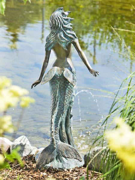 Bronzefigur Meduna (Art.Nr. 88177)