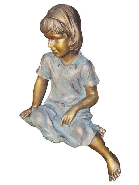 "Dekofigur ""Mimi"" aus Polystone (Art.Nr. gr829)"