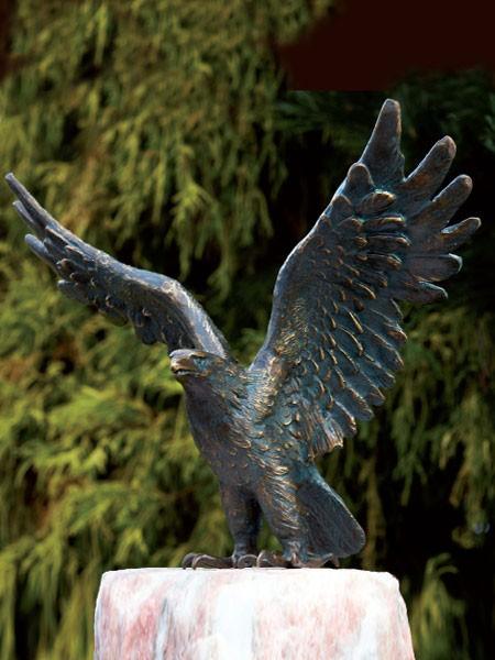 Bronzefigur Seeadler klein (Art.Nr. 88631)