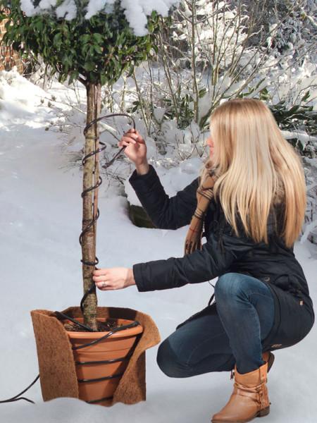 Frostschutz-Heizkabel, Temperatur reguliert