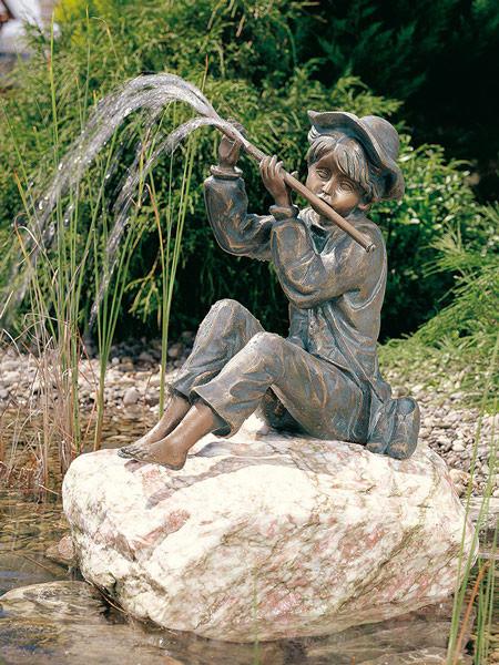 BronzefigurHans klein(Art.Nr. 88722)