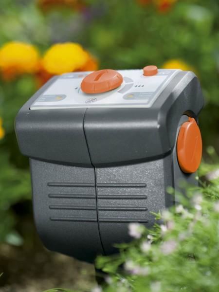 Gardena Bodenfeuchtesensor im Einsatz